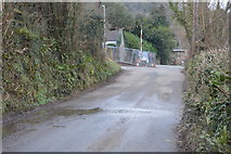 SX4760 : Nearing the end of Coombe Lane by N Chadwick
