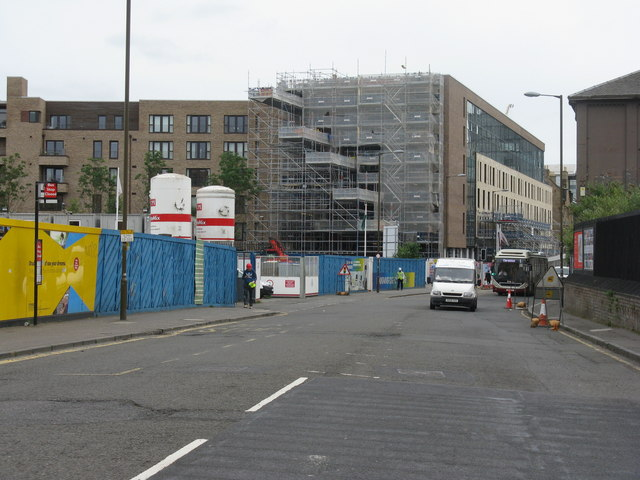 Fountainbridge construction