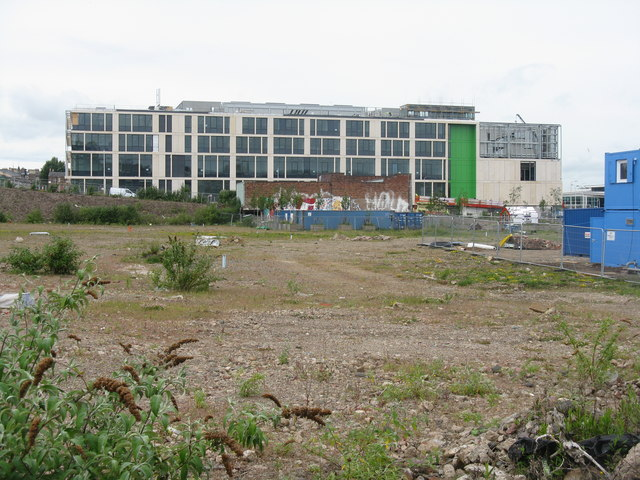 The new Boroughmuir High School