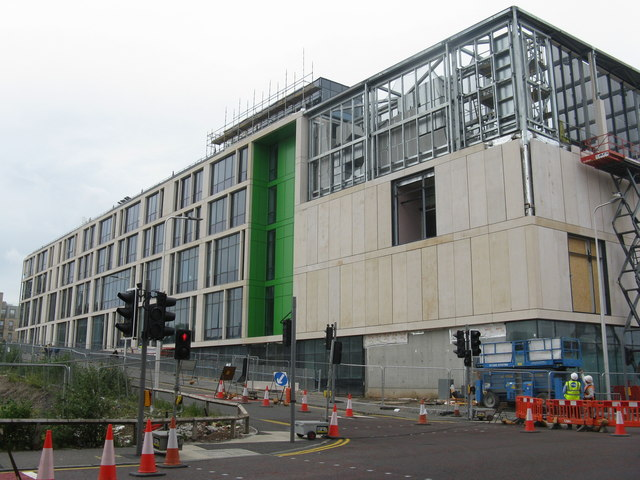 New Boroughmuir High School on Viewforth
