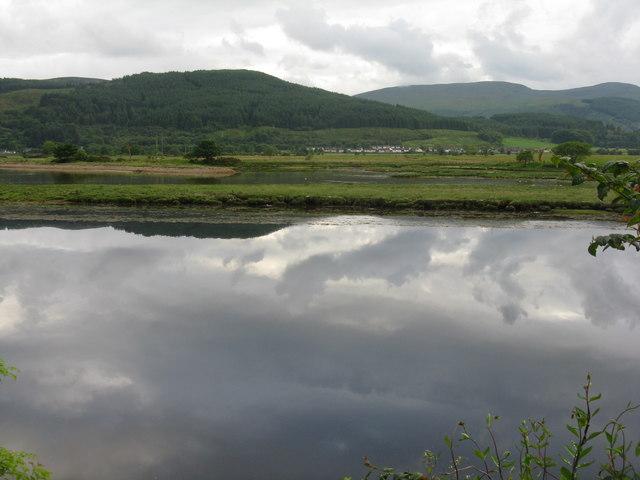 The River Eachaig near Ardbeg