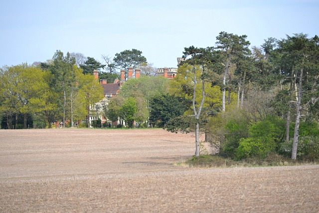 A glimpse of Chadwick Manor across the Park