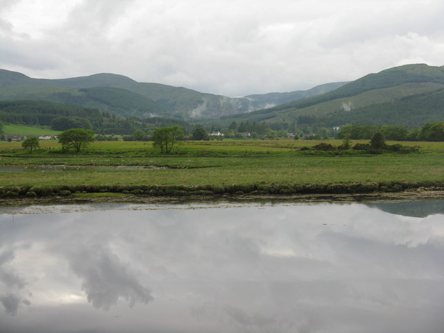 Looking across the River Eachaig