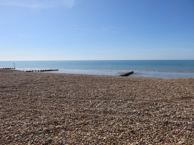 The beach at Bognor Regis