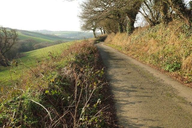 Lane to Polmassick