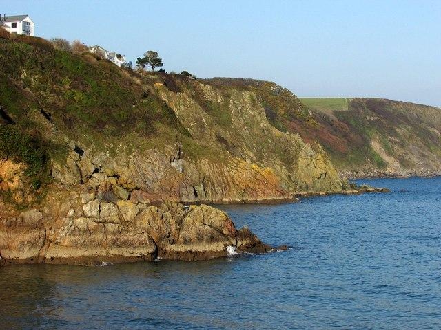 Cliffs at Gorran Haven