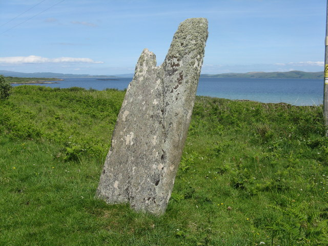 Carragh an Tarbert, the Druids' Stone