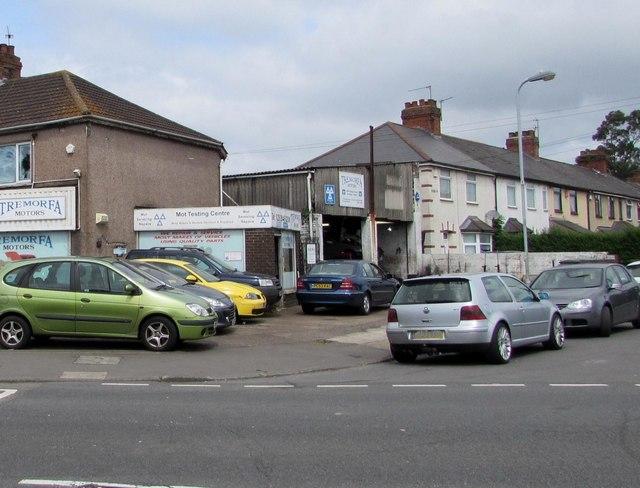 Tremorfa Motors MoT test centre, Cardiff