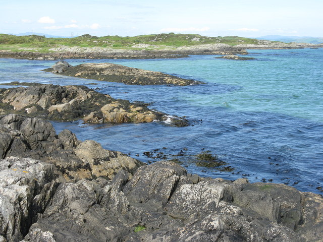 Low tide at Gigha ferry terminal