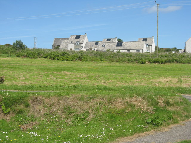 Houses on Gigha