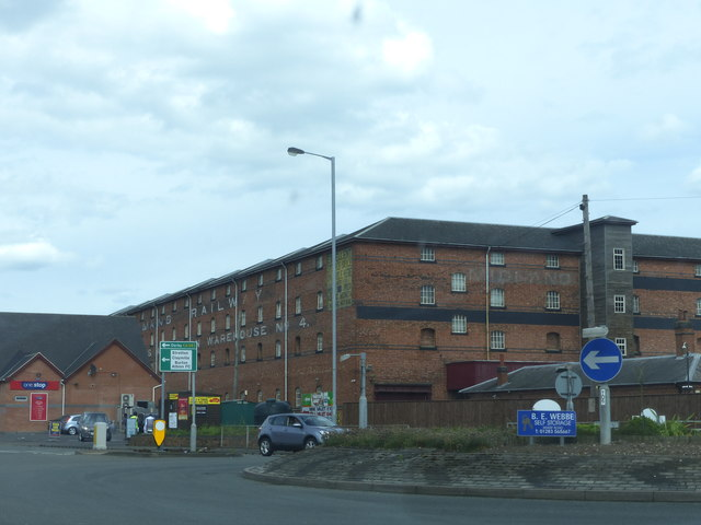 Midland Railway No. 4 Grain Warehouse and Bonded Store