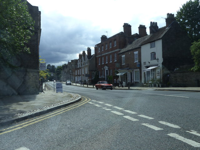 Junction of Station Road and Church Street Ashbourne