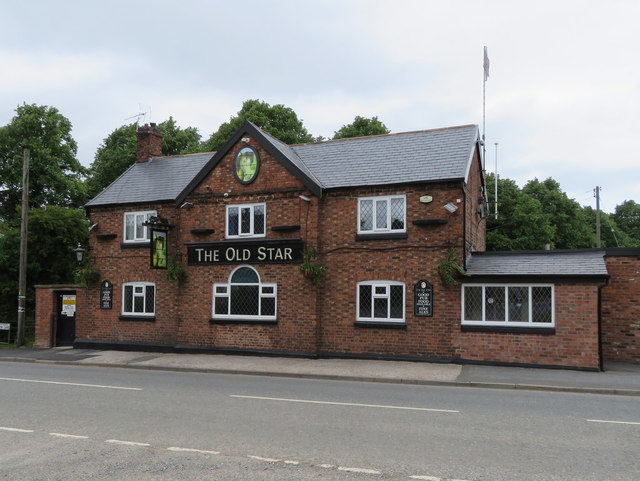 The Old Star public house, Over Winsford