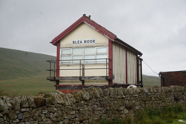 10-45am Blea Moor Signal Box