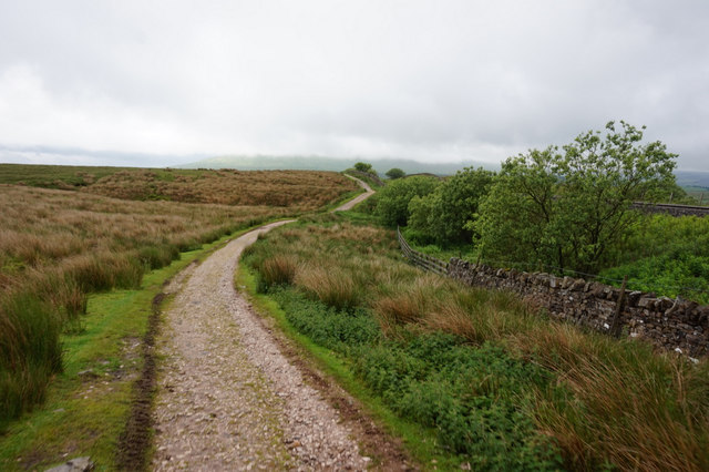 10-49am path towards Ribblehead Viaduct
