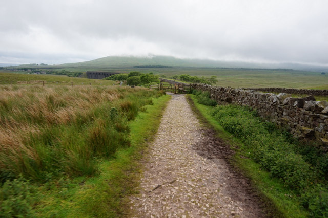 10-52am path towards Ribblehead Viaduct