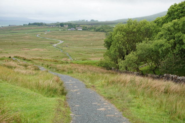 10-54am path towards Ribblehead Viaduct