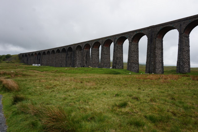 10-57am  Ribblehead Viaduct