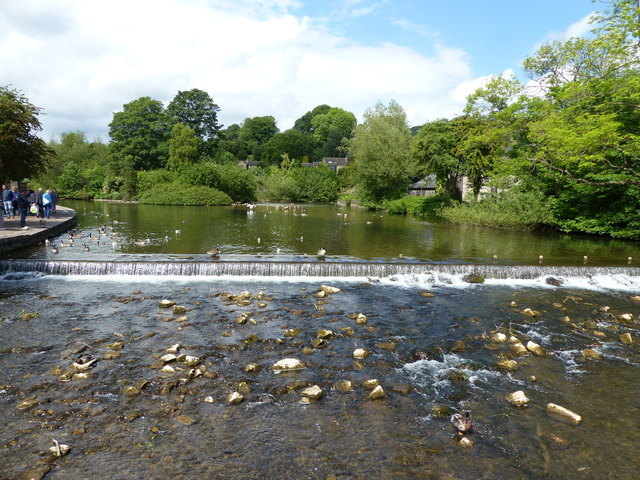 The River Wye Bakewell