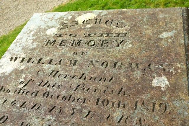 Tombchest, Egloshayle churchyard