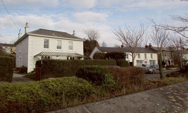 Houses on Egloshayle Road