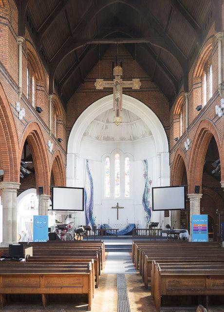 All Souls, St Margarets on Thames - East end