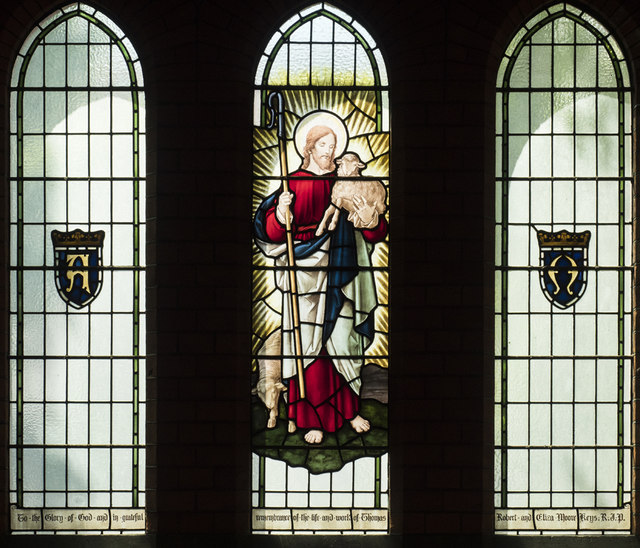 All Souls, St Margarets on Thames - Stained glass window