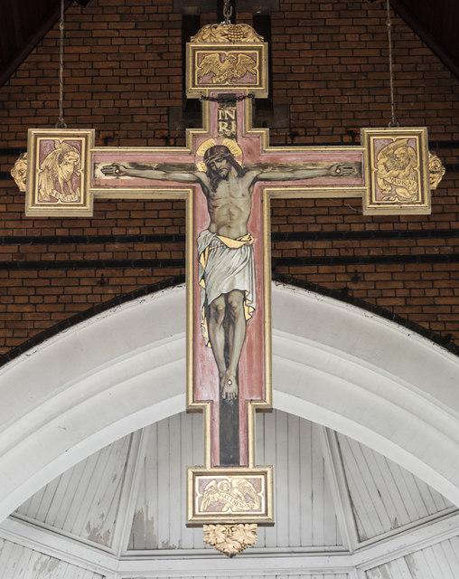 All Souls, St Margarets on Thames - Hanging rood