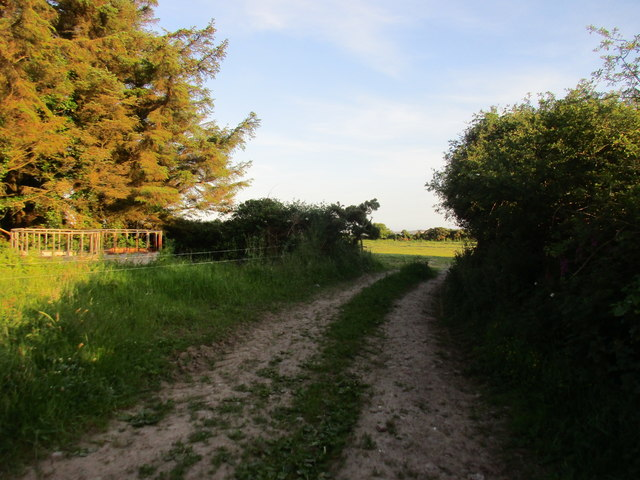 Field entrance at Greenlands