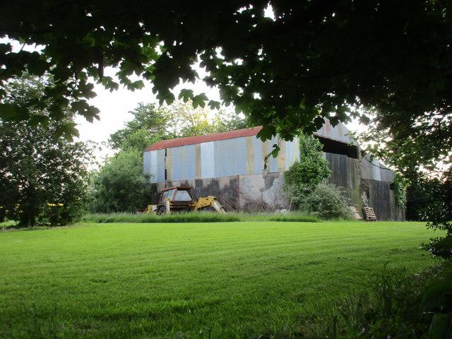 Farm buildings by O'Loughtane Cross Roads