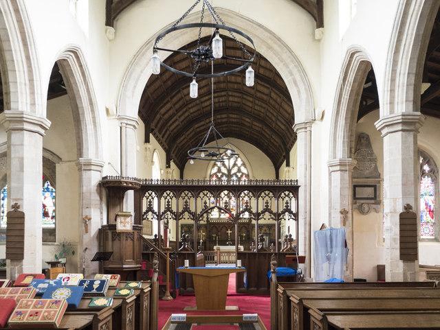 St Mary, Doddington - East end