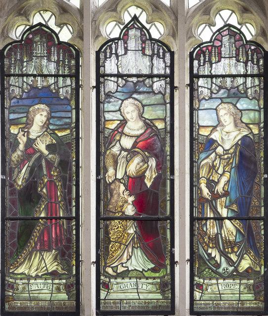 St Mary, Doddington -  Stained glass window