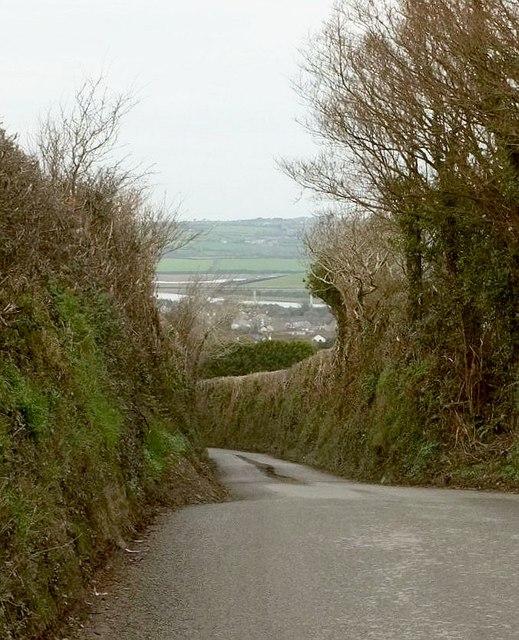 Lane to Wadebridge