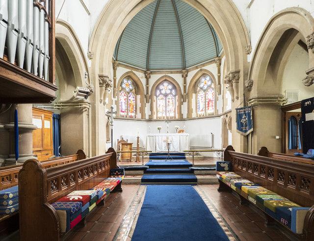 St Peter, Wimblington - Chancel