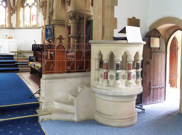 St Peter, Wimblington - Pulpit