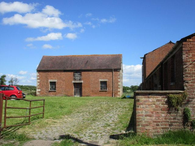 Buildings at Spout Farm. Blaisdon