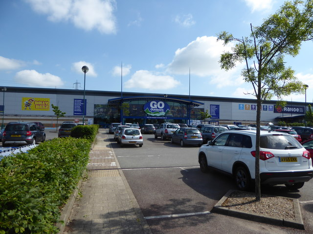 The new Go Outdoors store at Anglia Retail Park