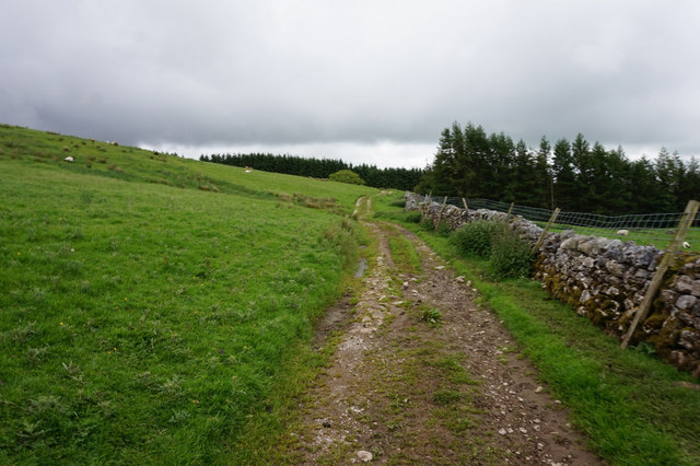 12-13pm path towards High Birkwith