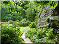 SJ8383 : Quarry Bank Mill gardens by Chris Gunns