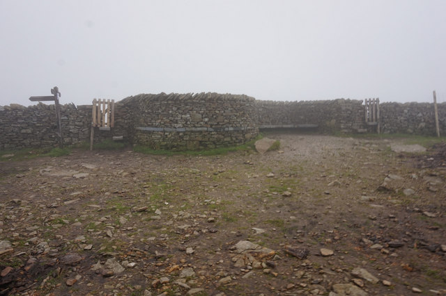 2-11pm the summit of Pen-y-ghent