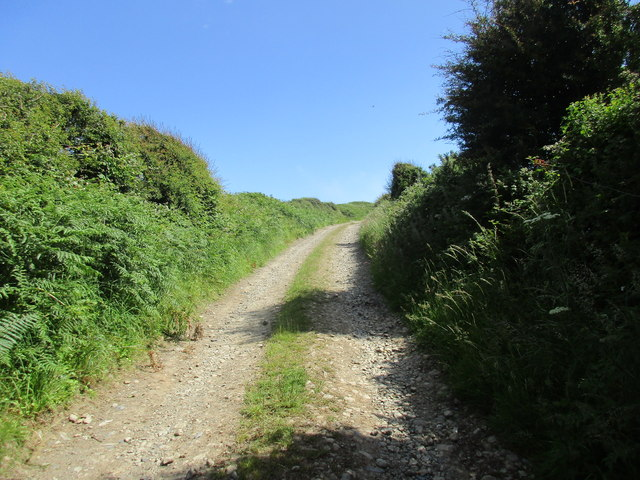 Track to the Signal Tower