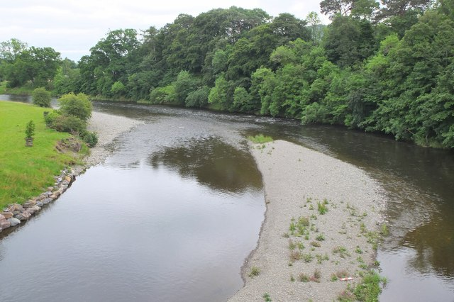 The Tweed from Lowood Bridge