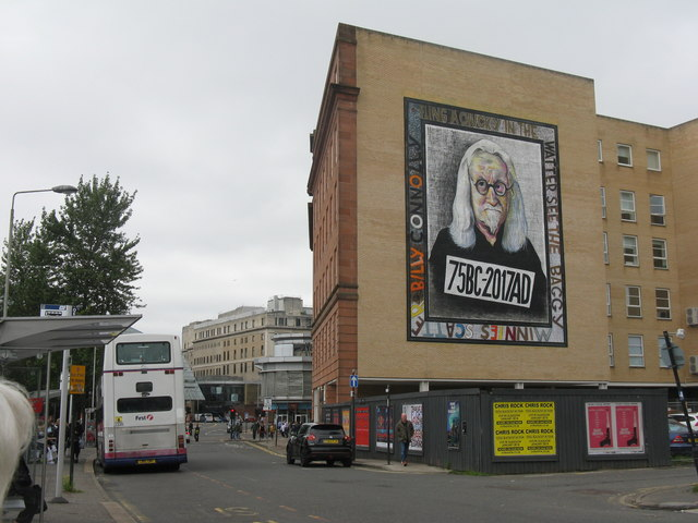Sir Billy Connolly at Old Wynd, Osborne Street