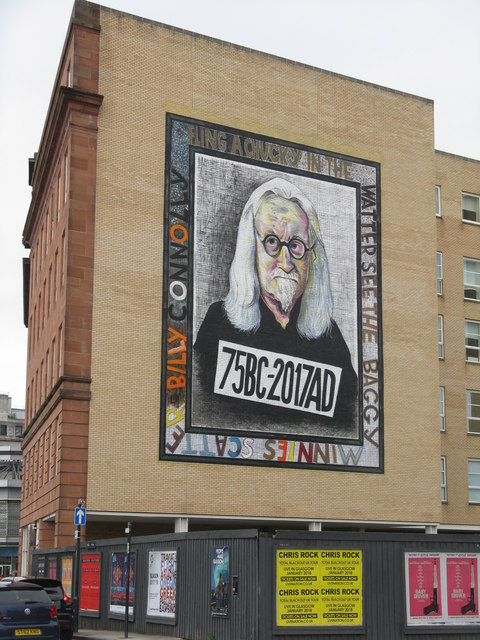 Sir Billy Connolly by John Byrne