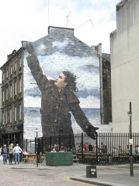 Sir Billy Connolly on Dixon Street
