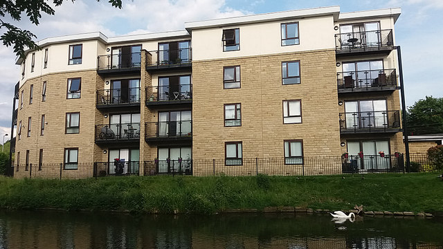 Swan and new apartments