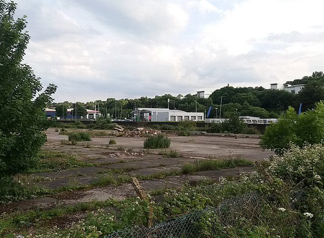 Demolition site on Stanley Road