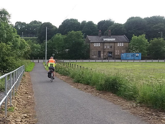 Shipley Greenway below Stanley Road