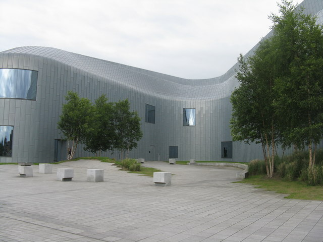 Riverside Museum at Kelvinhaugh