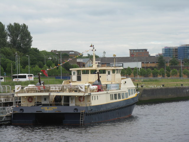 'Clyde Clipper' at Riverside